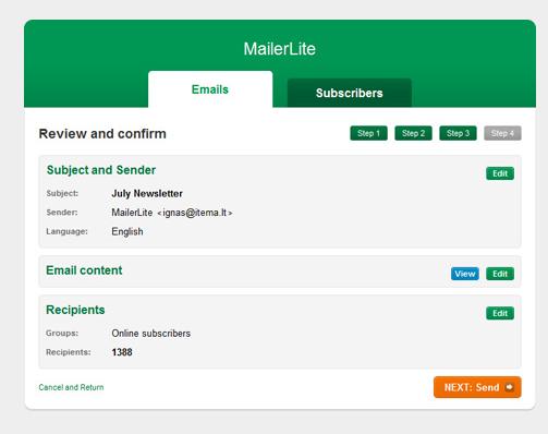 web based email marketing