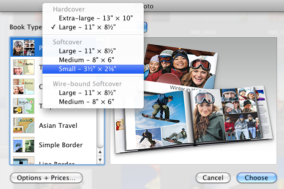 how to use iphoto book