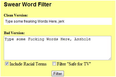 words to replace swear words