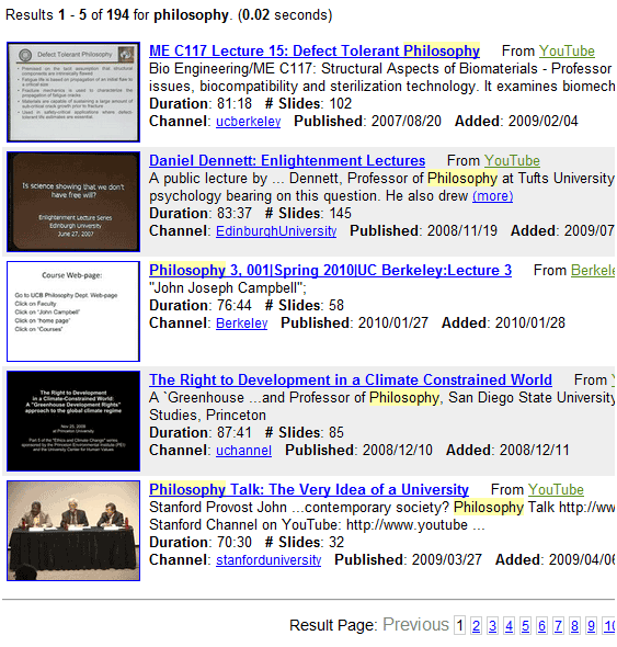 talkminer   TalkMiner: Web Resource For Quality & Free Video Lectures On Various Topics