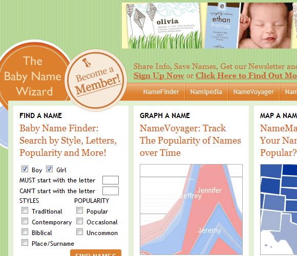 baby naming tool