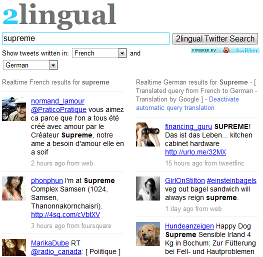 bilingual twitter