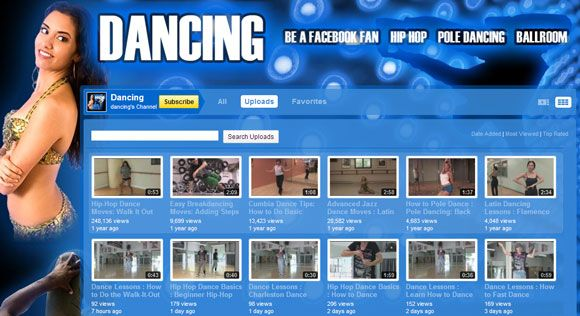 free dance lessons online