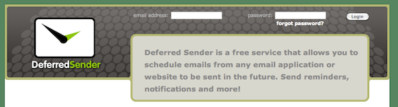 email reminder service