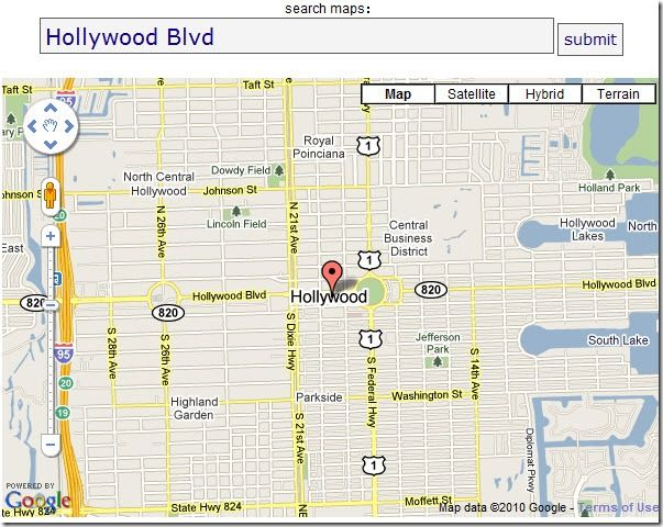 google map links