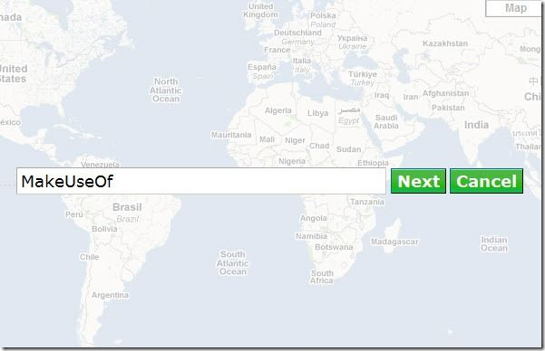 create a map of your trip