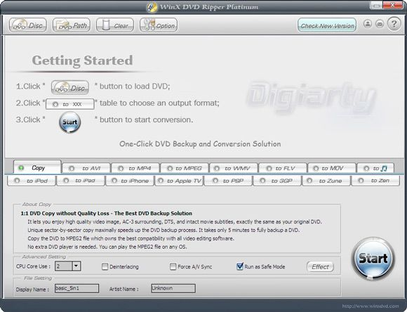 WinX DVD Ripper Platinum - Backup Your DVD in 5 Mins [Giveaway]