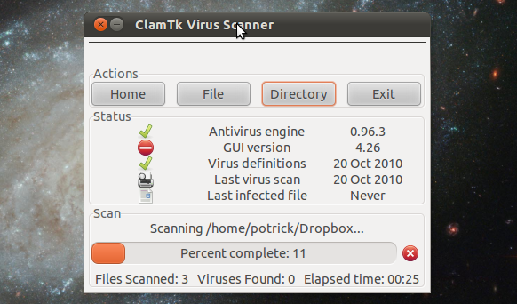how to install virus scan software