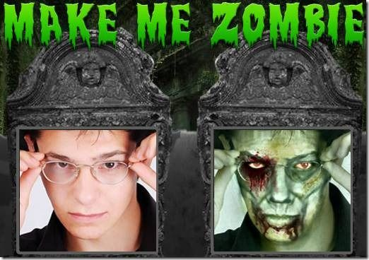 zombify your face