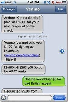 text money transfer