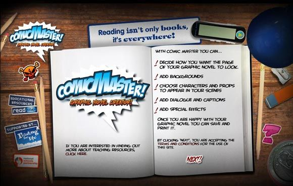 create graphic novel online