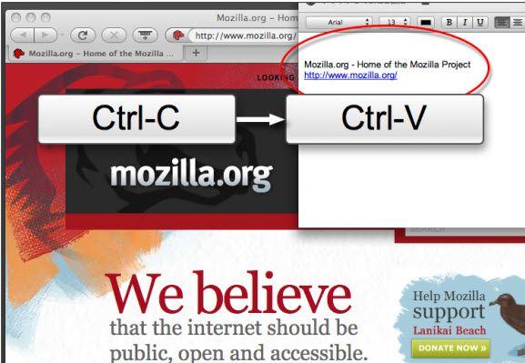 copy paste web page
