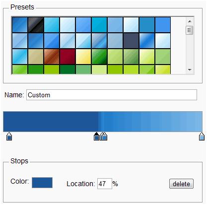 great gradients
