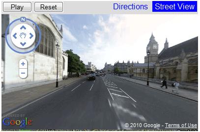 animated street view