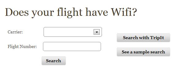 in flight wifi
