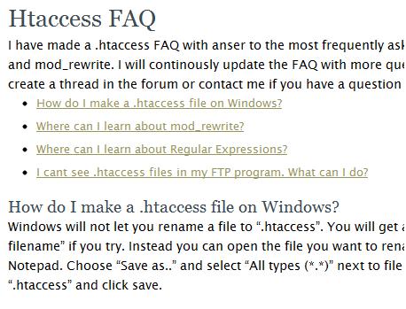 htaccess tools