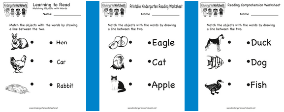 Kg homework – Homework Worksheets for Kindergarten