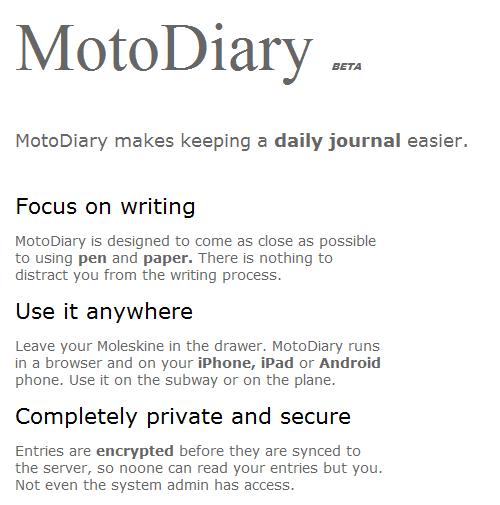 secure online journal