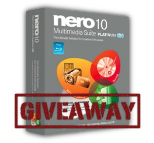 Nero Multimedia Suite Platinum HD Giveaway Winners