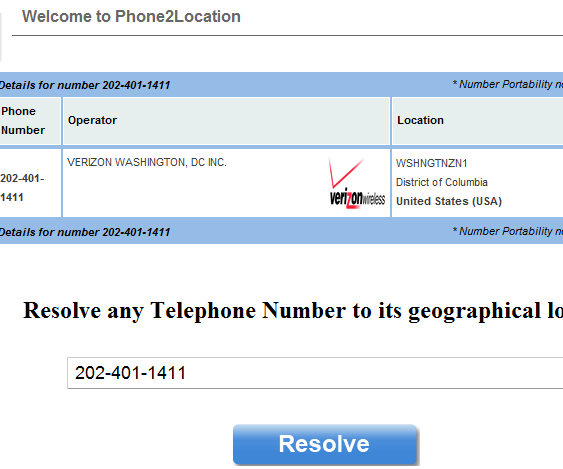 phoneloc   Phone2Location: Quick Geo Location Of Any Phone Number