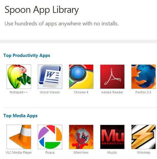 run desktop application in browser