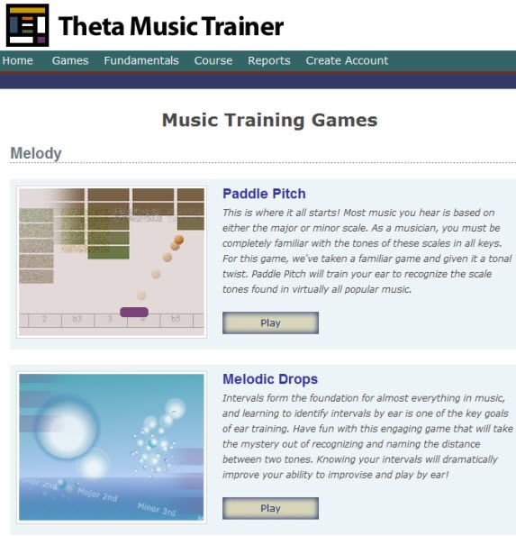 teaching music with games