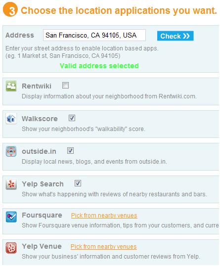 social toolbar for website
