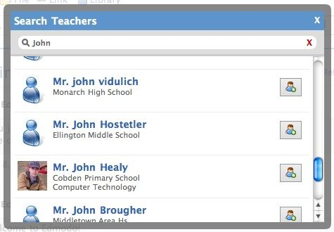 social network for teachers and students