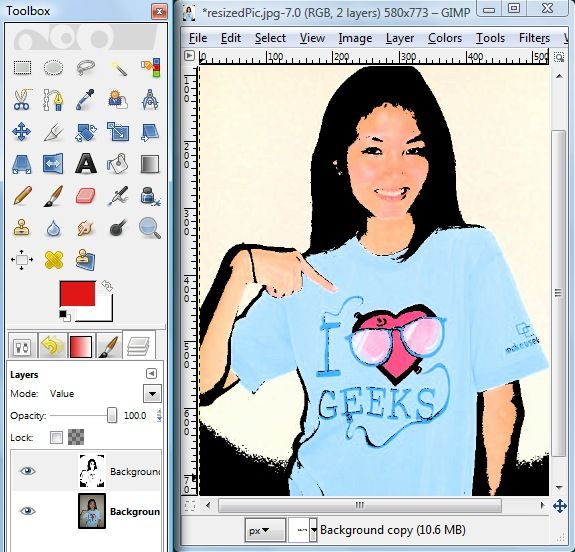 How To Cartoonify Your Photos With GIMP 10