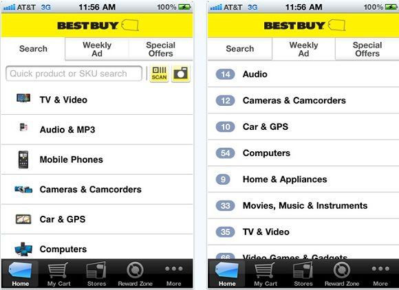 best shopping apps free