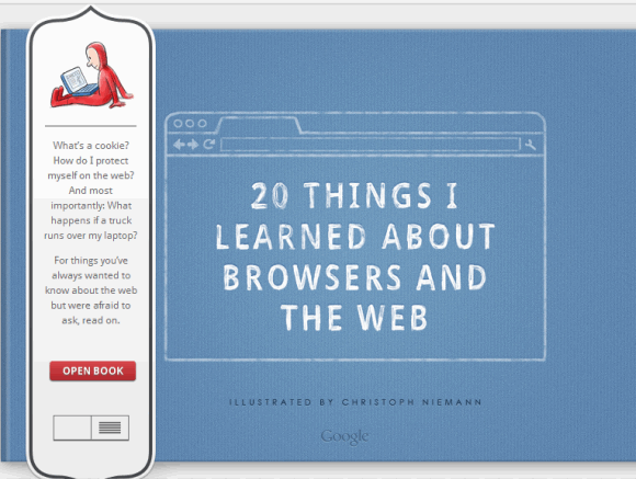 20 thing i learned 1   20 Things I Learned About Browsers and the Web: A Book By Google on Browsers and Internet