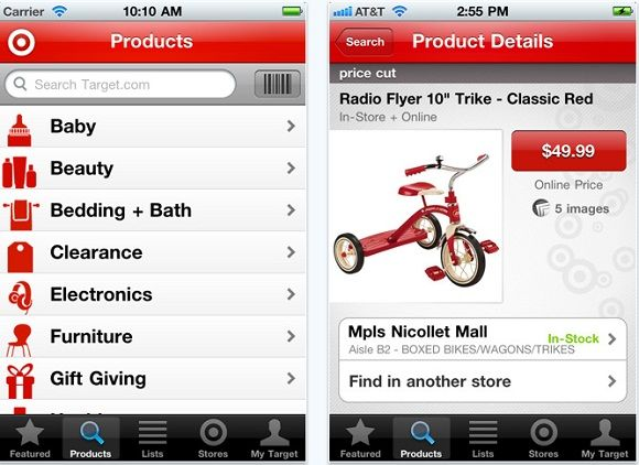 The Top 10 Free Shopping Applications For iOS Devices 8 shopping target