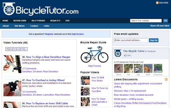 10 Bicycling Websites That Will Pedal You Into The World Of Cycling Bicycling02