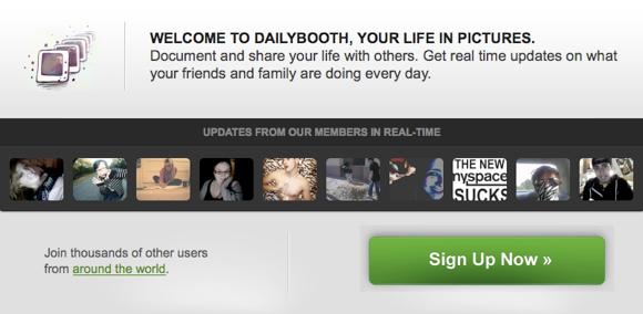 what is dailybooth