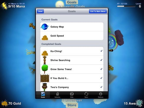 6 Free Simulation Games for the iPad GodFinger Goals