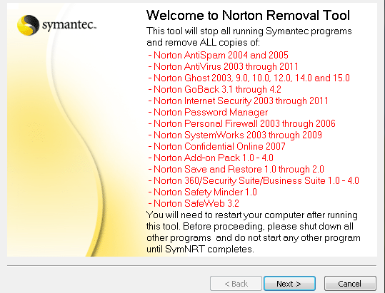 How To Completely Remove Norton Or McAfee From Your Computer Nortonremovaltool
