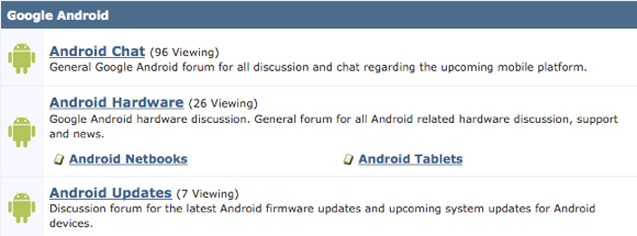 best android forum