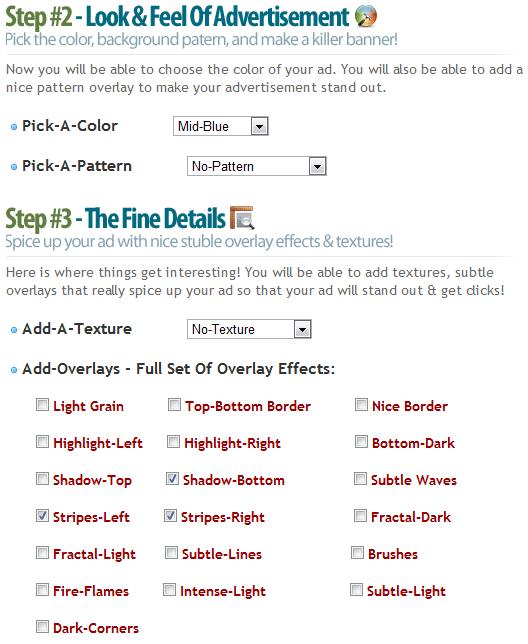 create web banner online