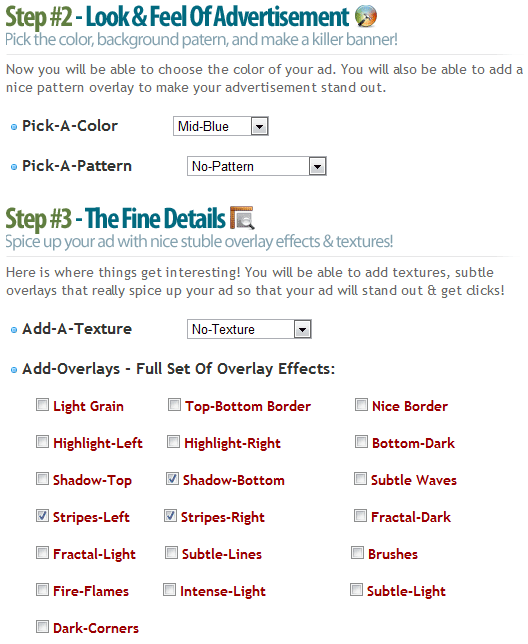 banner hive1   BannerHive: Generate Web Ad Banners & Obtain Their HTML Codes