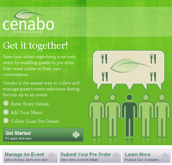 cenabo1   Cenabo: Cool Meal Ordering System For Group Events