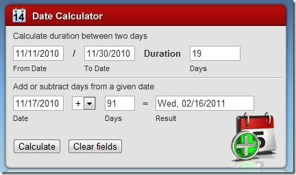 calculate days between dates