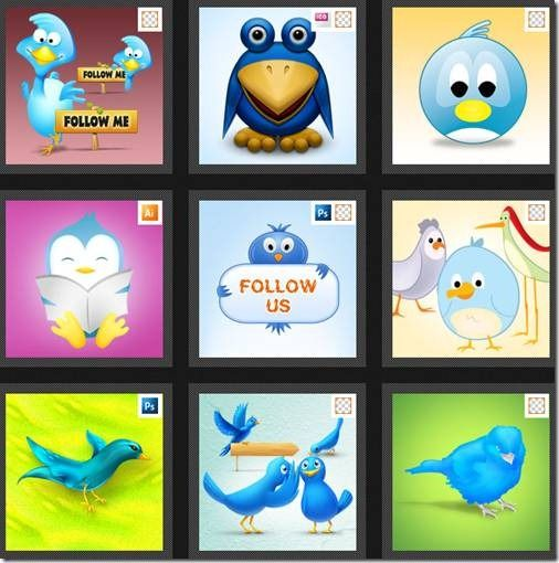 free twitter icons