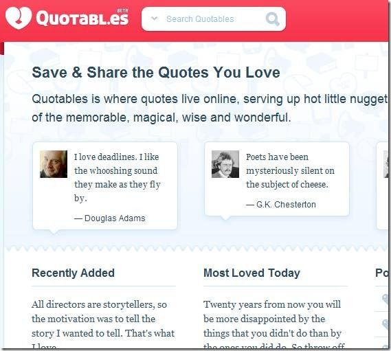 clip image0024   Quotables: Find, Save & Organize Quotations Online