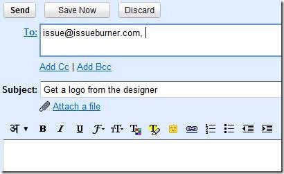 clip image0026   IssueBurner: Email Based Task Management & Collaboration Tool