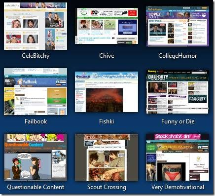 clip image0027   ViewMarks: Get A Thumbnail View Of All Your Firefox Bookmarks
