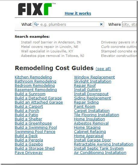 fixr   Fixr: Find The Best Contractors For Home Improvement & Repairs