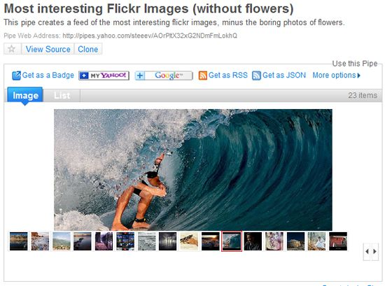 flickr feed