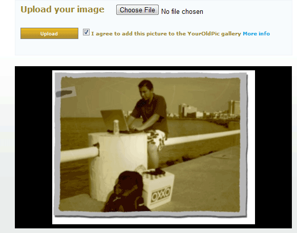 oldphoto   YourOldPic: Make An Image Look Old