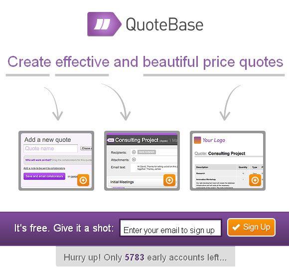 Quotes Generator Best Quotebase Cool Price Quote Generator