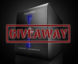 ioSafe SoloPRO Giveaway Winner soloprogiveaway